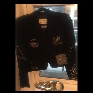 Moschino stylish blazer. Made in Italy.